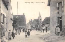 41 - LOIR ET CHER / 412880 - Veuves - Intérieur Du Bourg - Beau Cliché Animé - Autres Communes