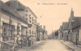 41 - LOIR ET CHER / 412891 - Vernou - Rue Principale - Beau Cliché Animé - Autres Communes
