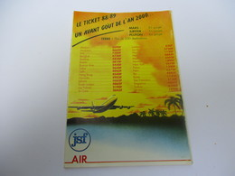 Calendrier De Poche à 3 Volets /Voyages WASTEELS/ J'ai Moins De 26 Ans , Je Voyage Moins Cher/ 1989   CAL426 - Calendriers