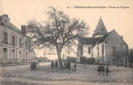 41 - LOIR ET CHER / Villefranche Sur Cher - 412967 - Place De L'église - Autres Communes