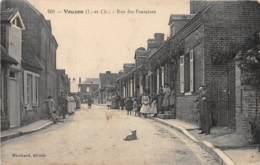 41 - LOIR ET CHER / Vouzon - 412980 - Rue Des Fontaines - Beau Cliché Animé - Autres Communes