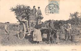 41 - LOIR ET CHER / Divers - 412996 Les Vendanges - Charette De Vendangeurs - Beau Cliché Animé - Autres Communes