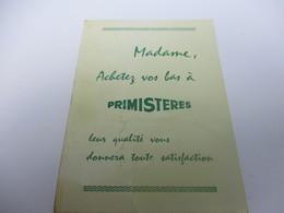 Calendrier De Poche à 1 Volet /PRIMISTERES/ Madame , Achetez Vos Bas à Primistéres/ 1969   CAL427 - Calendriers