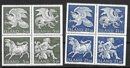 Islande 1990 N° 667/674 Neufs Génies Et Armoiries - 1944-... Republic