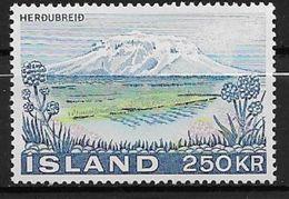 Islande 1972 N° 413  Neuf ** MNH Paysage - 1944-... Repubblica