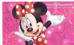 Disney Passeport Entreecard JAPON * TOKYO DISNEYLAND Passport (1316) MINNIE * JAPAN *  PASSPORT * - Disney