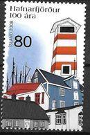 Islande 2008 N°1132 Neuf** Centenaire De Harnarffjordur - 1944-... Republik