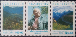 Uzbekistan, 1992, Mi. 2, Y&T 2, Sc. 2, SG 2, Butterfly, MNH - Uzbekistan