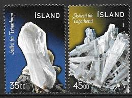 Islande 1998 N°846/847 Neufs Minéraux - 1944-... Republik