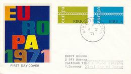DC-1240 - FDC 1971 EUROPA CEPT - IRELAND EIRE - FDC