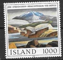 Islande 1978 N° 488 Neuf ** MNH Peinture De Jon Stefansson - Ungebraucht