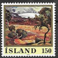 Islande 1976 N° 466 Neuf ** MNH Peinture De A. Jonsson, Glacier - Ungebraucht
