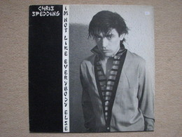 CHRIS SPEDDING . I'M NOT LIKE EVERYBODY ELSE (LP) (RAK RECORDS / EMI 1980) - Rock