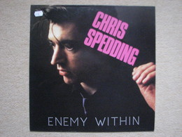 CHRIS SPEDDING . ENEMY WITHIN (LP) (NEW ROSE RECORDS 1986) - Rock