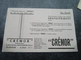 """""""CREMOR"""" - Cirage De France - 18, Rue Molière à MONTROUGE (BUVARD) - Blotters"""