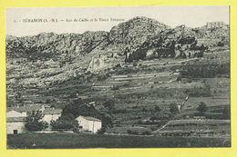 * Séranon (Dép 06 Alpes Maritimes France) * (nr 1) Aco De Caille Et Le Vieux Séranon, Rare, Old, Unique, TOP - France