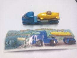 (425) - Kinder Truk Mit Forschungs-u-Boot + BPZ; - Mountables