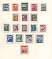 Austria (1945/47) - Mi. 738/770 ** - 1945-.... 2ème République