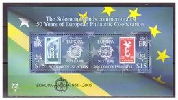 0903 Solomon Islands 2006 50 Year Europa Europe CEPT S/S MNH - Europa-CEPT