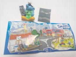 (470) - Kinder Smurfs EN 429 + BPZ - Monoblocs