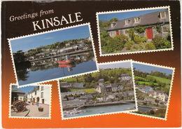 Greetings From Kinsdale - Multiview - Cork - (Ireland) - John Hinde - Cork