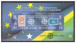 0904 Solomon Islands 2006 50 Year Europa Europe CEPT S/S MNH - Europa-CEPT