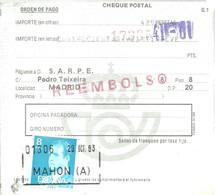GIRO 1983 MAHON - 1931-Hoy: 2ª República - ... Juan Carlos I
