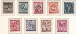 Austria (1947) - Mi. 776/783 ** + 771 ** - 1945-.... 2ème République