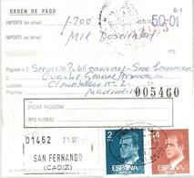 GIRO 1983 SAN FERNANDO CADIZ - 1931-Hoy: 2ª República - ... Juan Carlos I