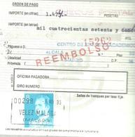 GIRO 1983 VELEZ MALAGA - 1931-Hoy: 2ª República - ... Juan Carlos I