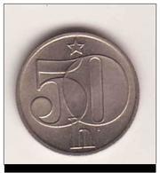 TCHECOSLOVAQUIE  CZECHOSLOVAKIA 50 Haleru 1984 - Tchécoslovaquie