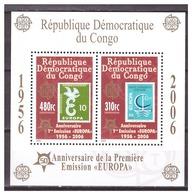 0910 Congo 2006 50 Year Europa Europe CEPT S/S MNH - 2006