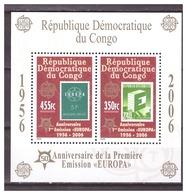 0911 Congo 2006 50 Year Europa Europe CEPT S/S MNH - 2006