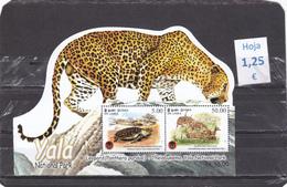 Sri Lanka   -  Hoja Bloque  Nueva**   (Fauna Animales - Wildlife Animals)  - 11/10103 - Sri Lanka (Ceilán) (1948-...)