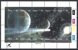 CISKEI Yv  88/97,10 Valeurs En Feuillet, Passage De La Comète De Halley  ** Mnh - Astrologie