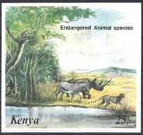 Kenya  Yv BF 25 Non Dentélé, Endangered Animals Species ** Mnh - Kenya (1963-...)