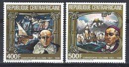 République Centrafricaine Yv PA 338/9,Hommage à Christophe Colomb  ** Mnh - Centrafricaine (République)