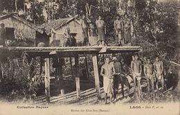 Laos Huttes Des Khas - Laos