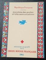 Carnet Croix Rouge De 1961  Neuf ** à 18% De La Cote, Etat TTB. - 1900-27 Merson