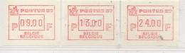 """PIA - BEL - 1987 -  Tps De Distributeurs : """"PORTUS  87"""" - Expo Phil. à Gent  - (Yv 16) - Belgio"""