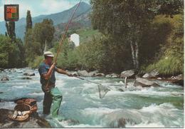 VALLS D ANDORRAPECHANT DES TUITES - Andorre