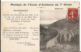 CPA - Besançon - Musique De L'école D'artillerie Du 7ème Corps - Besancon
