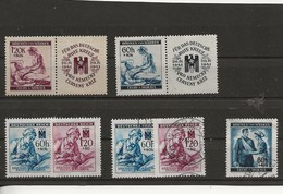 Böhmen Und Mähren-Timbres De 1941-42 Croix-Rouge. - Germany