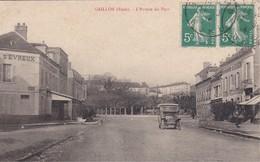 GAILLON - L'Entrée Du Pays - Hôtel D'Evreux - Voiture - Francia
