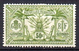 Col10    Nouvelles Hebrides  N° 33 Neuf X MH  Cote : 6,00  Euro Cote 2015 - Unused Stamps
