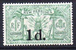 Col10    Nouvelles Hebrides  N° 77 Neuf X MH  Cote : 6,00  Euro Cote 2015 - Unused Stamps