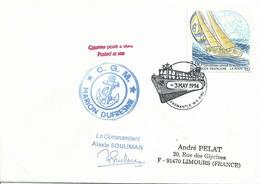 YT 2831 - Course Autour Du Monde à La Voile - Courrier Posté à Bord Du Marion Dufresne à Fremantle - Australie - 1961-....