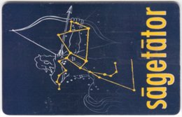 ROMANIA A-628 Chip Telecom - Signs Of Zodiac, Sagittarius - Used - Romania