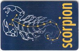 ROMANIA A-629 Chip Telecom - Signs Of Zodiac, Scorpio - Used - Romania