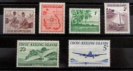 Islas Cocos 1/6 ** - Islas Cocos (Keeling)